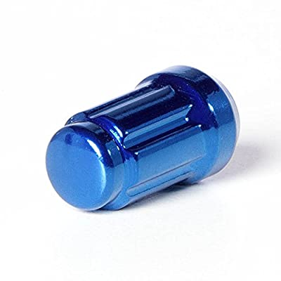 Circuit Performance Spline Drive Tuner Acorn Lug Nuts Blue 12x1.25 Forged Steel (20pc + Tool): Automotive