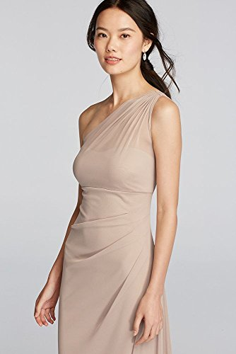 David's Bridal Women's Long Mesh One