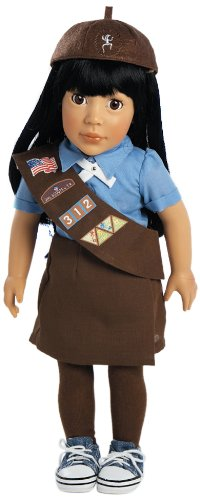 [Adora Play Doll Ava - Girl Scout Brownie 18