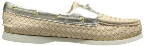 Sperry Top-sider Donna A / O In Tessuto Taupe Da Barca