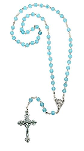 Rosary Turquoise Medal - 9