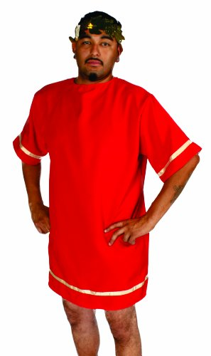 Alexanders Costumes Roman Tunic, Red, Small -