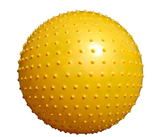 Yingealy 安全 環境に優しい 子供用 遊べるトールボール ベビーカートゥーンハンドル ボール 空気注入式 トールボール おもちゃ   B07L9VF63P
