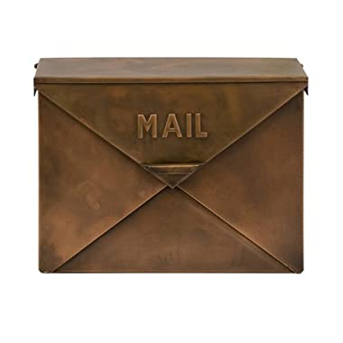 IMAX 44090 Tauba Copper Finish Mail Box