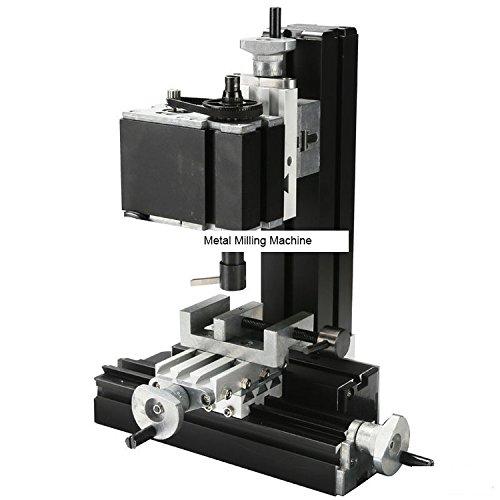 TZ20005MA 60W Metal Milling Machine/60W,12000rpm Powerful cutting mach/mini vertical milling by MUCHENTEC