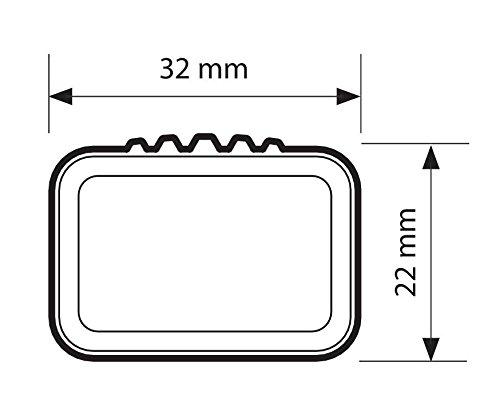 Lampa N15029 Coppia Barre Portatutto Rail-Top S Acciaio