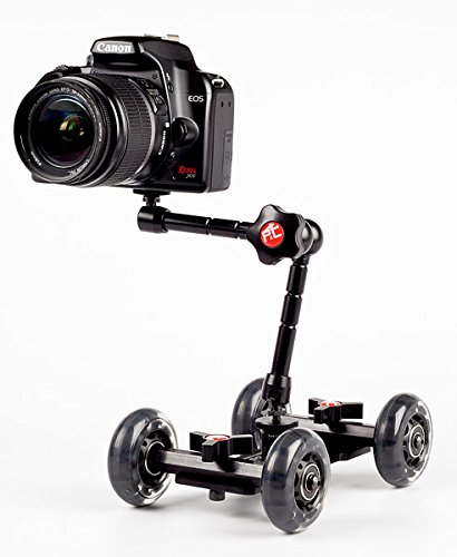 P&C Mini Skater Mini Video Dolly For DSLR's, Compact Cameras, Smartphone Cameras