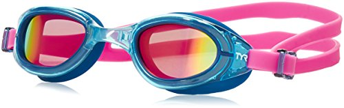 TYR Womens Special OPS 2.0 Polarized Goggles, Pink/Navy, One Size