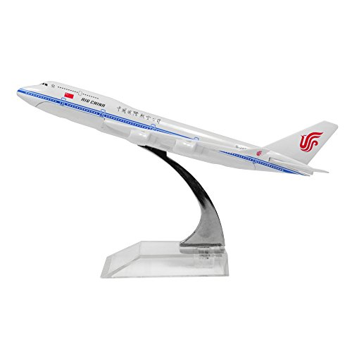 Air China Limited Boeing 747 - 400 Alloy Metal Model Plane
