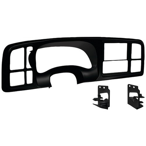 Select 1999-2002 GM Trucks and SUVs Double-DIN Dash Panel