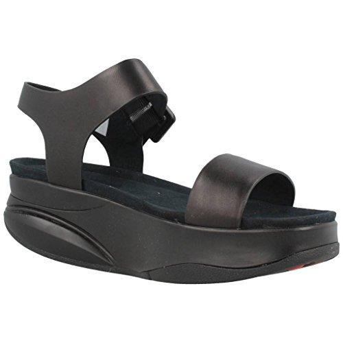Sandalias y chanclas para mujer, color Negro , marca MBT, modelo Sandalias Y Chanclas Para Mujer MBT MANNI W Negro Negro