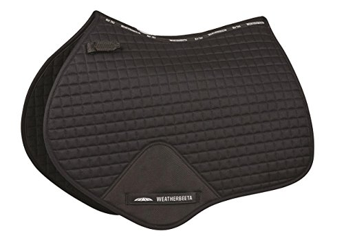 (Weatherbeeta Prime Jump Shaped Saddle Pad Black)