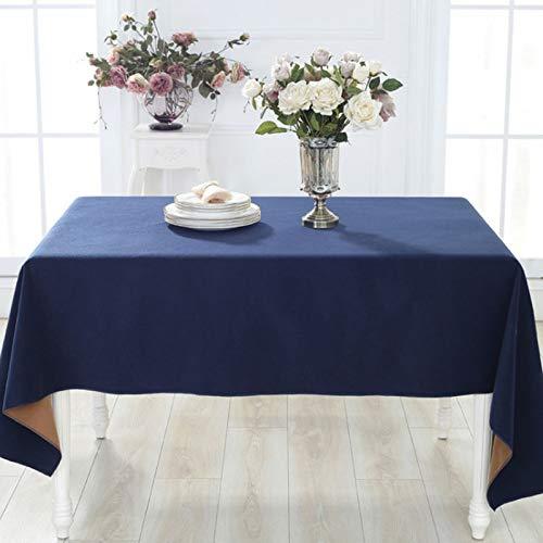 B 1204075cm Rindasr Nappe rectangulaire - de couleur unie, lavable - pour les buffets, les réceptions, les dîners de fête, les mariages, etc. (Couleur   B, taille   120  40  75cm)