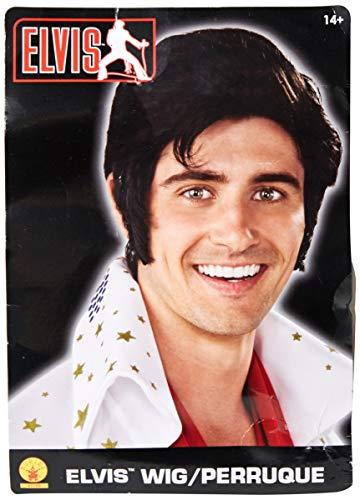 Elvis Now Wig, Black, One ()