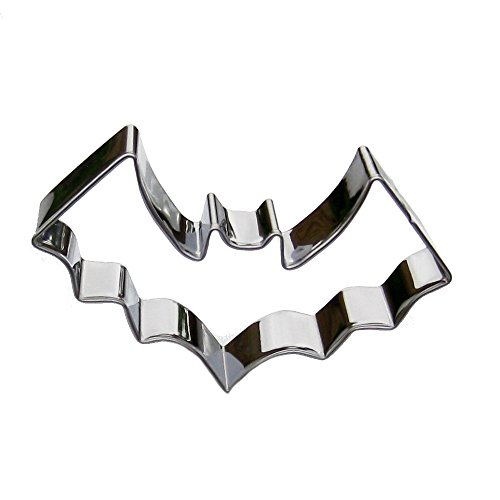 Small Halloween Bat Cookie Cutter- Stainless Steel -