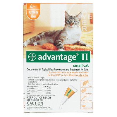 Flea Control For Cats 1-9 Lbs