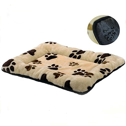 HUALAN Pet Crate Mattress Dog/Cat Cage Mat Cusion Washable Kennel Pads, 30'' x 20'' by HUALAN