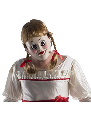 Rubie's Unisex-Adults Annabelle: Creation Mask With Wig, As Shown, One Size]()