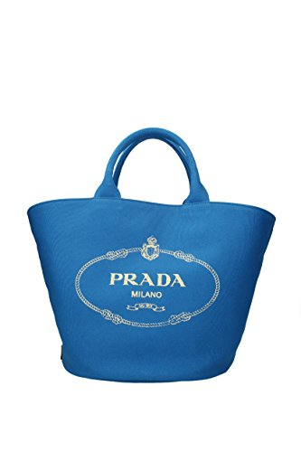 à Prada Celeste Femme main Tissu Sacs 1BG163 P5q5rZw