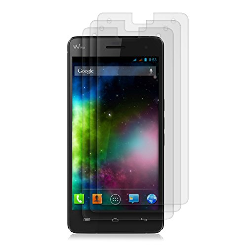 3x kwmobile® screen protector MATT and ANTI-GLARE, resistant against finger prints for Wiko Highway 4G - PREMIUM QUALITY