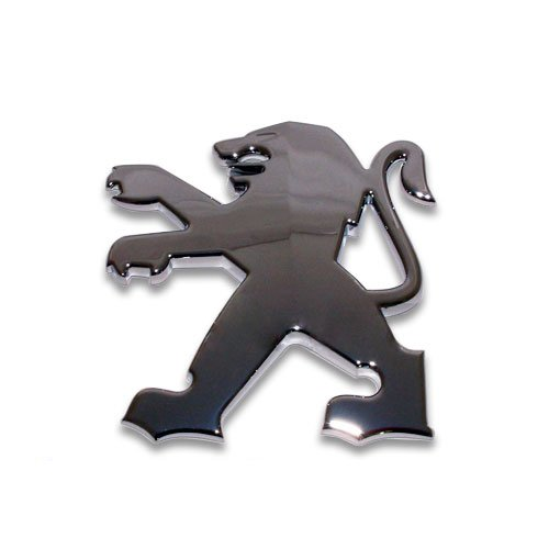 Genuine Peugeot Branded Silver Rampant Lion Tailgate Screen Badge Only for OE Number 7810N7