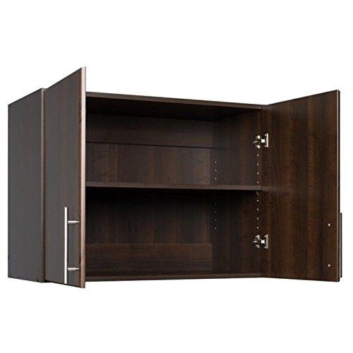 Prepac Espresso Elite Stackable Wall Cabinet, 32'', Brown