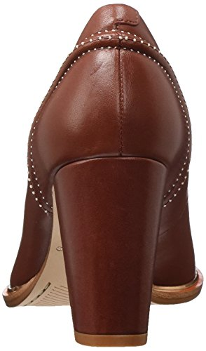 Escarpins Rouge Clarks Leather 37 Rot Femme Edith Rust Ellis EU Zww0qHE