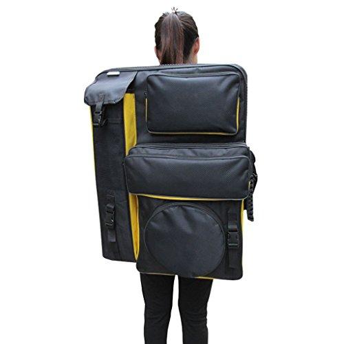 Drawing Board Backpack Art Carrying Case Painting Sketch Sketchpad Holder Portfolio Zipper Bag Pack