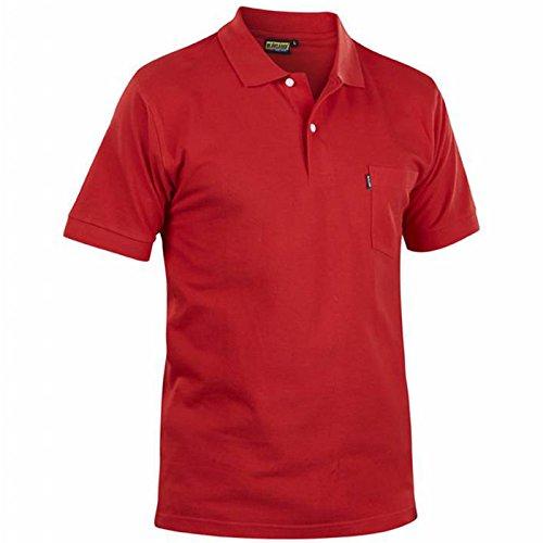 Blakläder 330510355600x XXL polo-shirt Größe XXXL rot