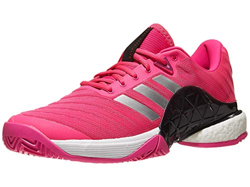 reputable site 5c71a 28bfd adidas Mens Barricade 2018 Boost Shock PinkMatte SilverLegend Ink 7.5 ...