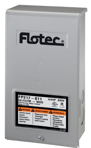 Pump Box Well Control (Flotec FP217-811 Submersible Well Pump Replacement Control Box)