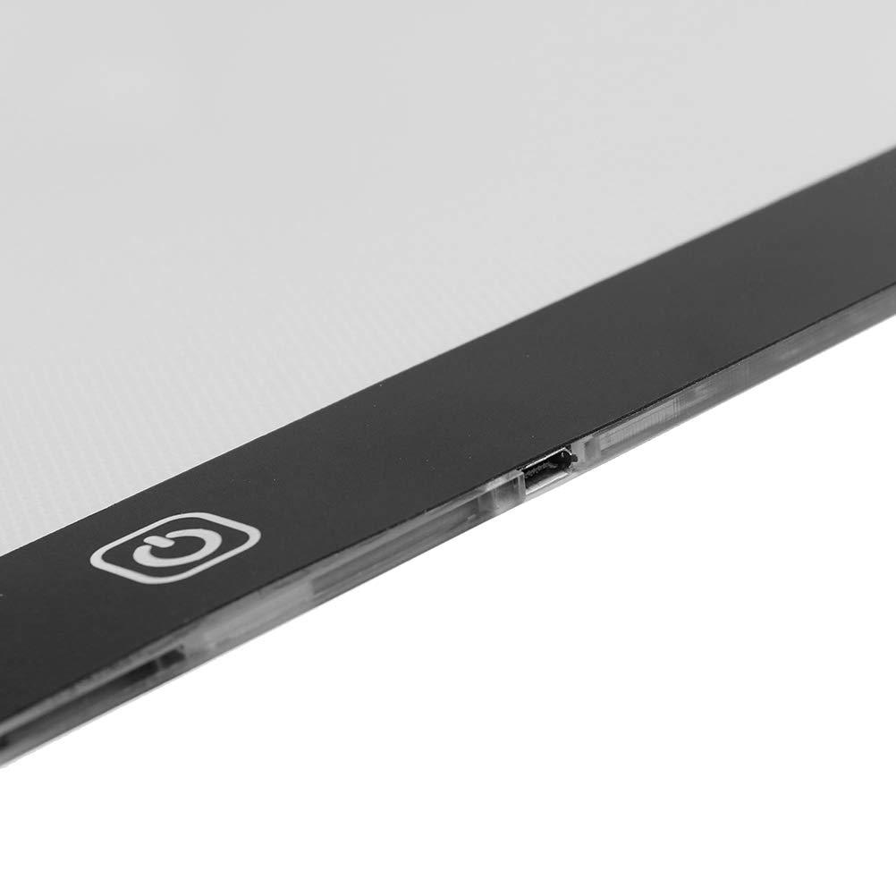 SevenMye USB A4 LED Light Box Tracing Board Art Stencil Drawing Pattern Pad