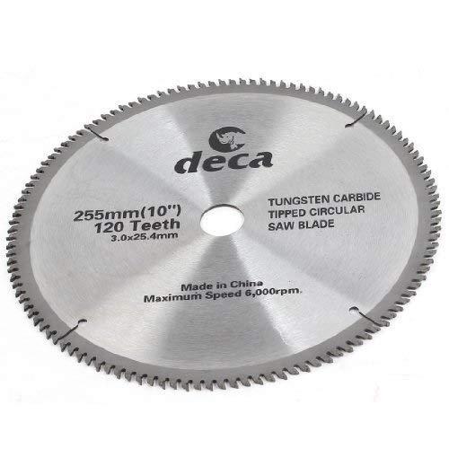 ZJN-JN 切断砥石 木材切削用6000PRMスピード120T 255ミリメートル直径の鋸刃 切断工具