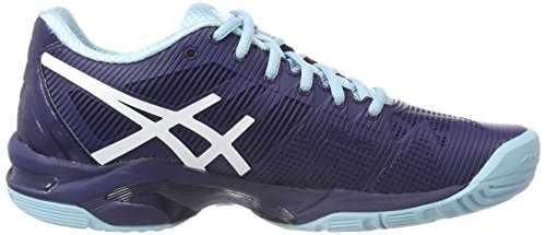 White Mujer Indigo 3 Tenis 4901 de Zapatillas Porcelain Asics Speed Solution Gel Blue Blue para Multicolor nqvwW1U7
