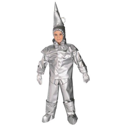 Rubie's Costume Co Tin Man Costume, Small, (White Fiber Optic Costumes Wig)