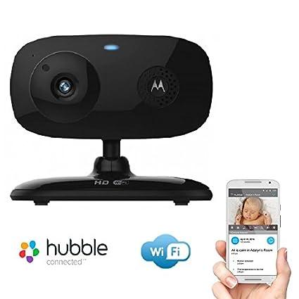 Motorola FOCUS 66 HD Wİ-Fİ Bebek İzleme & Güvenlik Kamerası, Siyah