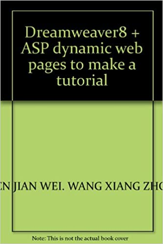 Dreamweaver8 + ASP dynamic web pages to make a tutorial