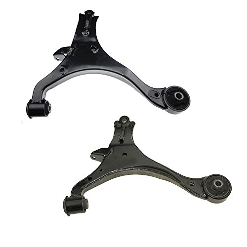 Left Suspension Control (2pc Left & Right Front Lower Control Arm Set Suspension Kit for 2001 2002 2003 2004 2005 Acura EL & 2001-2005 Honda Civic)