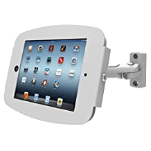 Maclocks Space Enclosure with Swing Arm Wall Mount for ipad 2/3/4,ipad-Air 2, White (827W224SENW)