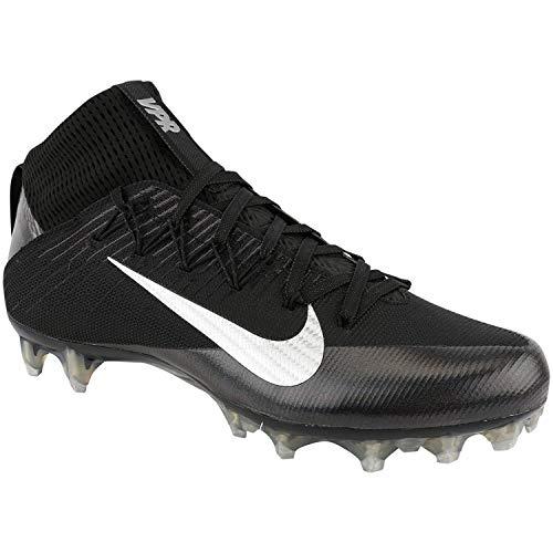 (Nike Men's Vapor Untouchable 2 Football Cleat Black/Anthracite/Metallic Silver Size 10.5 M US)