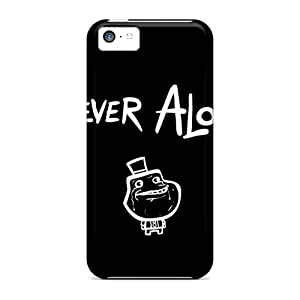linJUN FENGCynthaskey JuqIVeb7283FQzAV Case For Iphone 5c With Nice Forever Alone Appearance