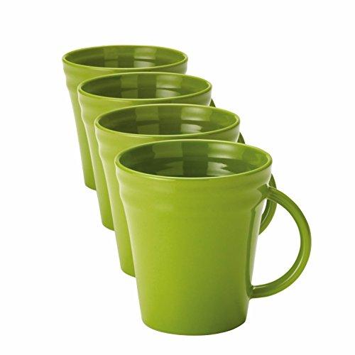Rachael Ray Dinnerware Double Ridge 4-Piece Mug Set -