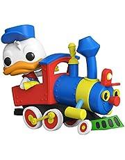 Disney Casey Jr Circus Train Ride Donald Duck met Motor Pop! Vinyl Figuur