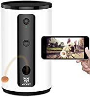 WOpet Smart Pet Camera:Dog Treat Dispenser, Full HD WiFi Pet Camera with Night Vision for Pet Viewing,Two Way Audio...
