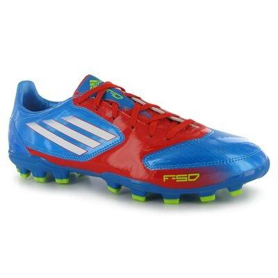 adidas F10 fußballkerle Zapatos TRX AG, Color Azul, Talla 45 1/3 Azul - azul