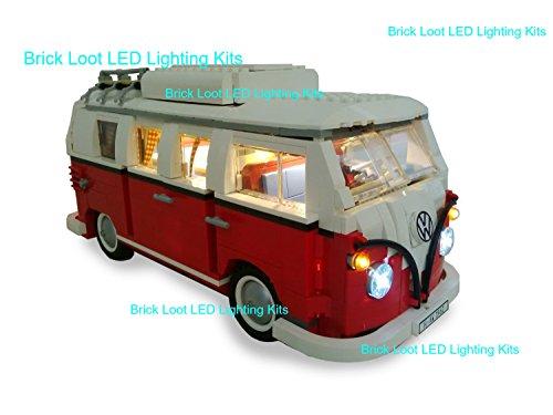 VW Camper Lighting Kit for LEGO Set # 10220  by Brick Loot