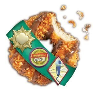 Girl Scouts Cookies 1 case (12boxes) (Caramel DeLites) by Girl Scouts