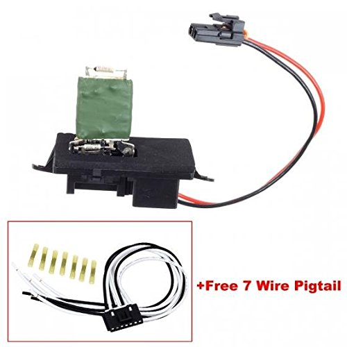 03 gmc blower motor resistor - 9