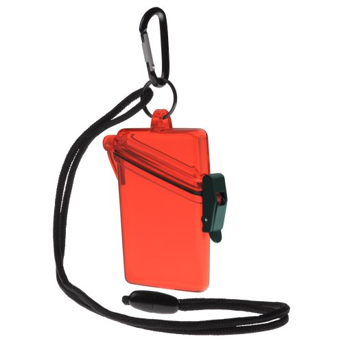Witz See It Safe Waterproof Case, Red