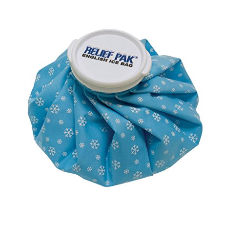 "Relief Pak English Ice Cap Reusable Ice Bag, 9"" Diameter"